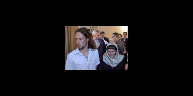 Stefaan Boeve retrouve sa famille - La Libre