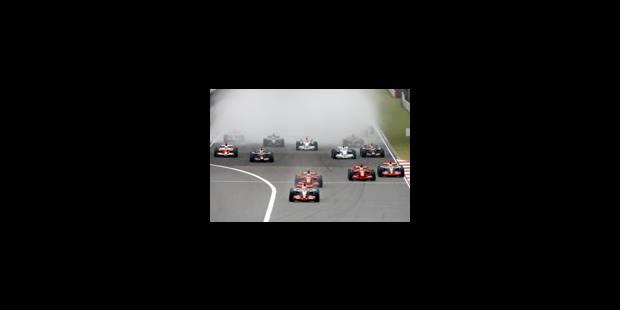Hamilton manque sa 1e chance de coiffer la couronne - La Libre