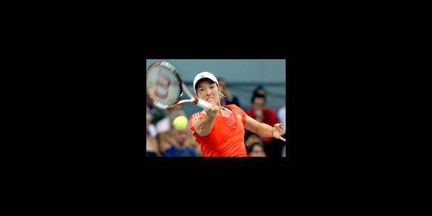 Victoire de Justine Henin - La Libre