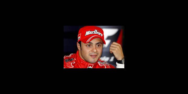 Massa prolonge avec Ferrari jusqu'en 2010 - La Libre