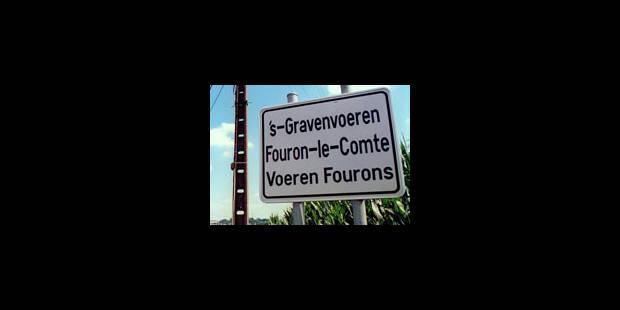 Les francophones de Fourons suivent le mouvement - La Libre