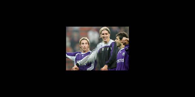 Le départ idéal pour Anderlecht