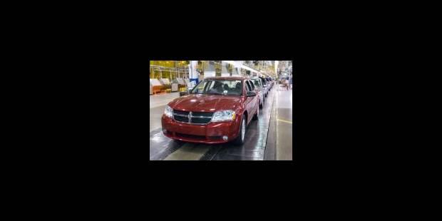 Chrysler supprime plus de 10.000 emplois supplémentaires - La Libre
