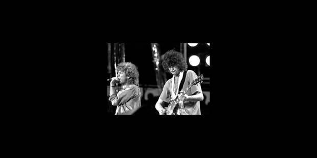 Report du concert de Led Zeppelin - La Libre