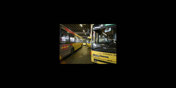70% des bus en grève à Charleroi - La Libre