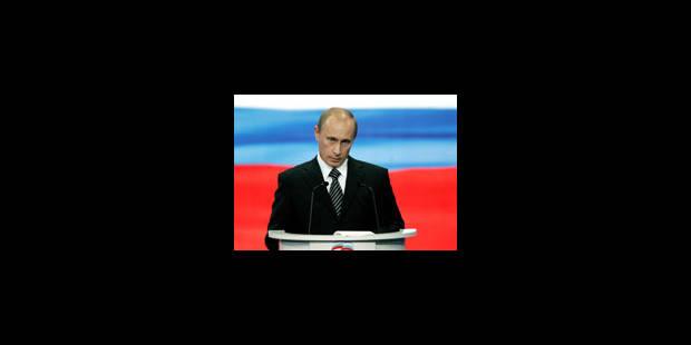 Poutine futur Premier ministre - La Libre