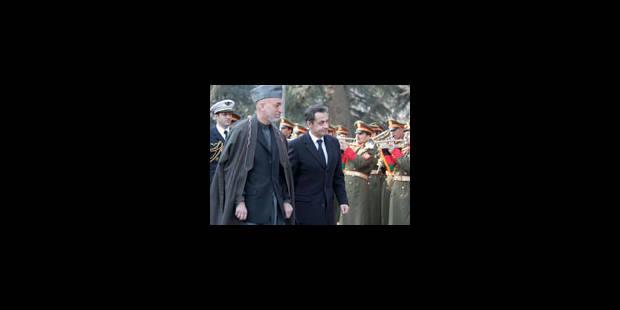 Visite surprise de Nicolas Sarkozy - La Libre