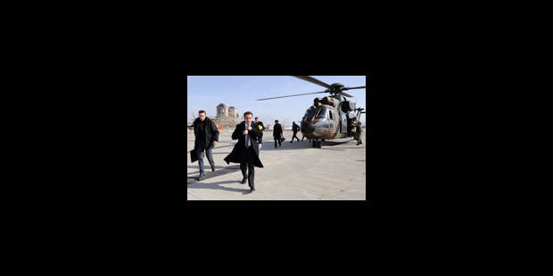 Sarkozy est arrivé à Louxor avec Carla Bruni - La Libre