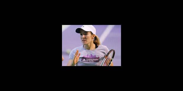 Justine Henin ira au tournoi d'Anvers - La Libre