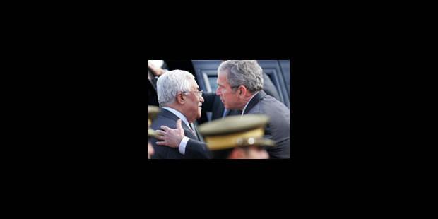 Tout le poids de Bush sur la négociation - La Libre