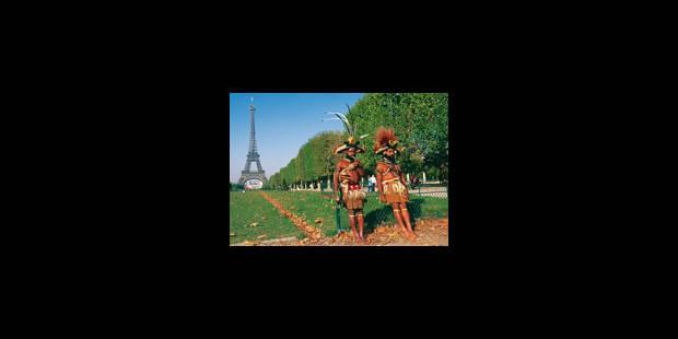 Deux Papous au pays des Blancs