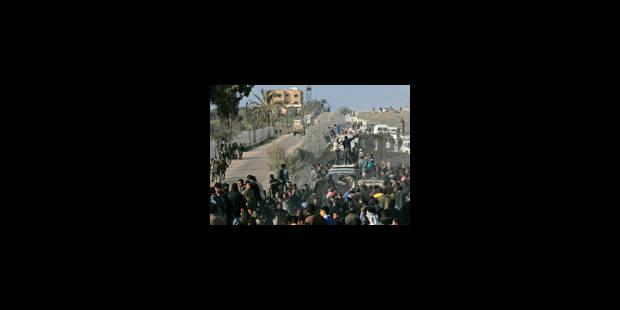 Le Hamas veut la frontière ouverte - La Libre