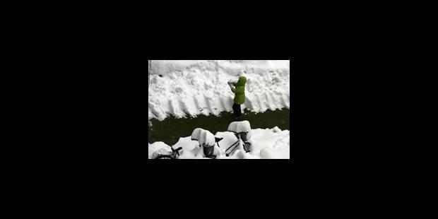 Neige et verglas provoquent le chaos - La Libre