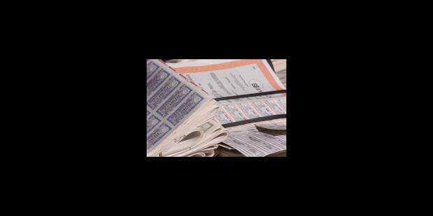 Don de titres papier étrangers : illégal ! - La Libre