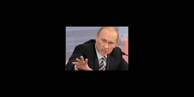 Poutine se pose en futur Premier ministre puissant - La Libre