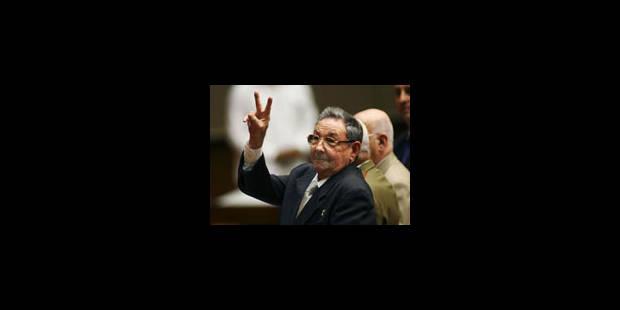 Raul Castro comme successeur de Fidel Castro - La Libre