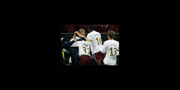 """Les """"Gunners"""" flinguent l'AC Milan - La Libre"""