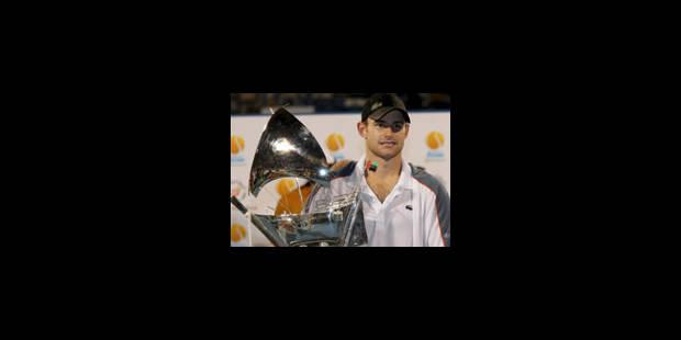 Andy Roddick, tempête du désert
