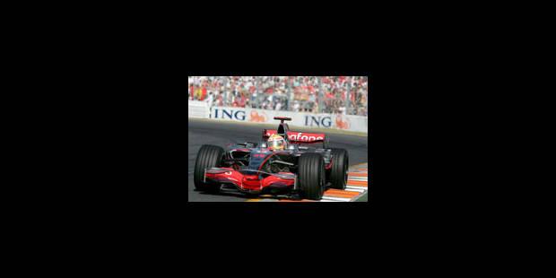 Lewis Hamilton a donné le ton - La Libre
