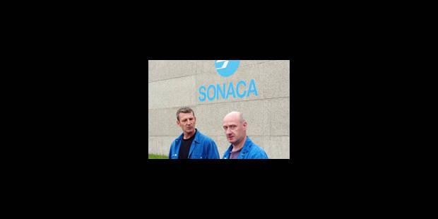 Le personnel de la Sonaca fait grève - La Libre