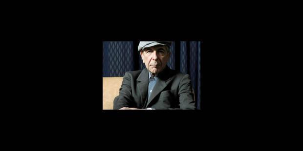 Leonard Cohen sera le 10 juillet à Bruges - La Libre