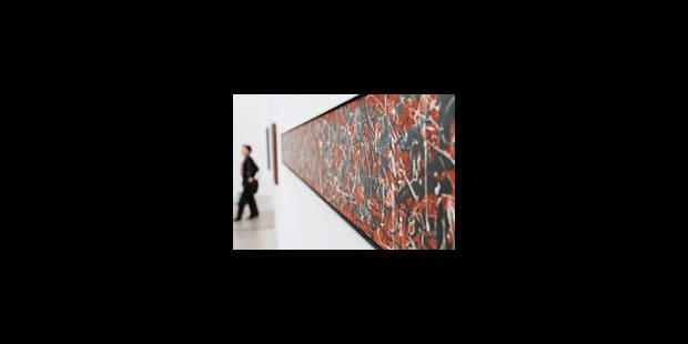 Jackson Pollock dans sa gloire - La Libre