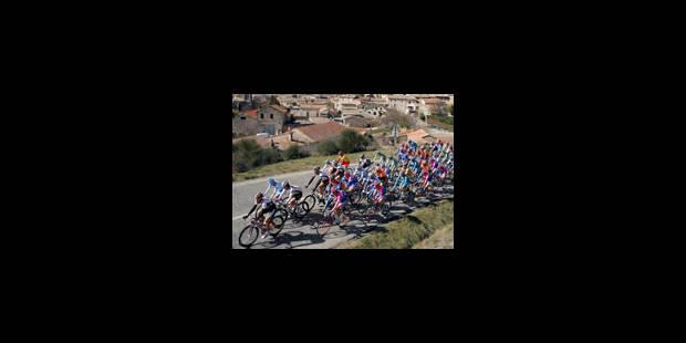 L'étape à Chavannel, le maillot à Rebellin - La Libre