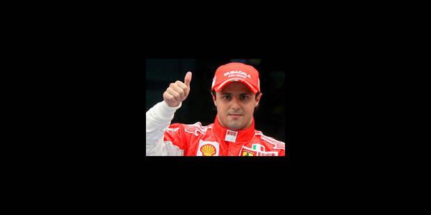 Massa en pole position devant Raikkonen - La Libre