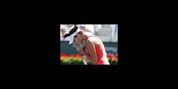 Victoire d'Ana Ivanovic - La Libre
