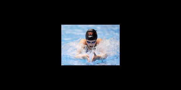 L'équipe belge de relais 4x100 m 4 nages féminin en finale - La Libre