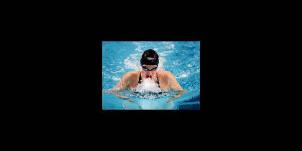 L'équipe belge du relais 4x100m 4 nages aux J.O. - La Libre