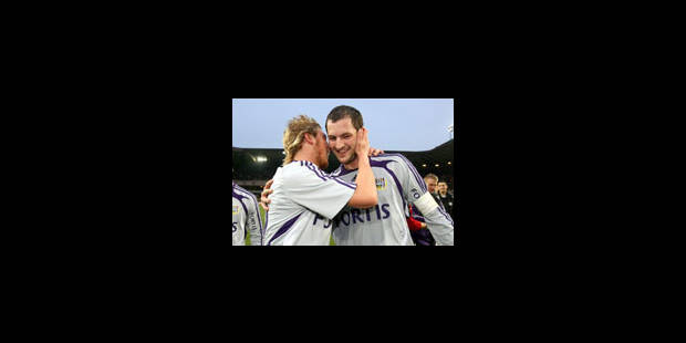 Anderlecht se positionne - La Libre