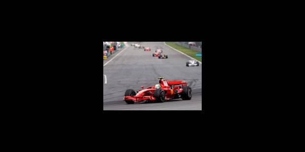 Felipe Massa signe le meilleur temps des essais libres - La Libre
