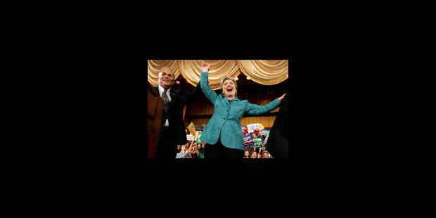 Hillary Clinton remporte la Pennsylvanie - La Libre