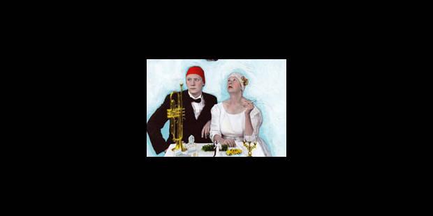 Les mariés passent à table - La Libre