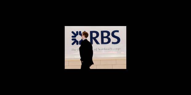 RBS pourrait sacrifier 7 000 postes - La Libre