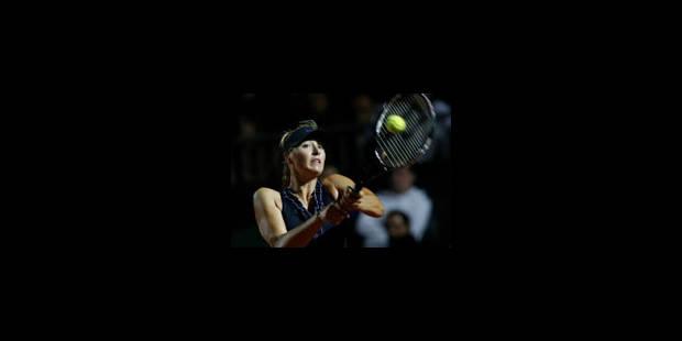 Sharapova déclare forfait - La Libre