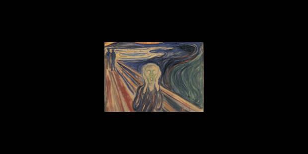 """Le """"Cri"""" de Munch, de retour à Oslo - La Libre"""