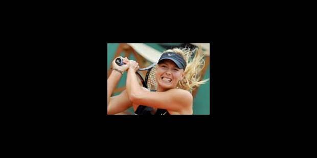 Roland Garros: Sharapova battue par Safina - La Libre