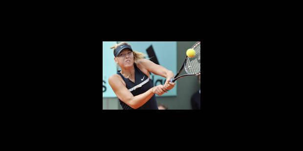 Sharapova ne sera plus n°1 - La Libre
