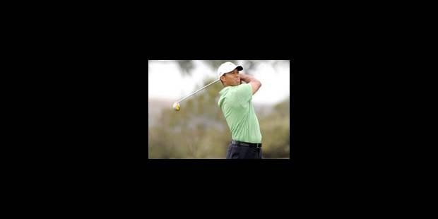 Tiger Woods remonte à la 2e place - La Libre