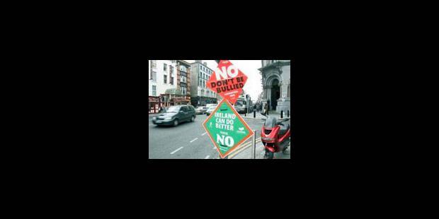 """Le vote irlandais : un """"non"""" de dignité - La Libre"""
