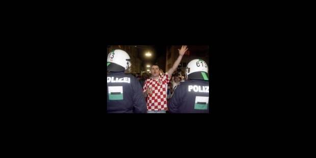Une douzaine d'interpellations à Vienne après Croatie-Turquie - La Libre