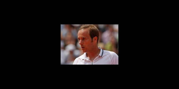 Olivier Rochus qualifié pour le 2e tour - La Libre