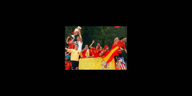 L'Espagne s'embrase pour ses héros - La Libre
