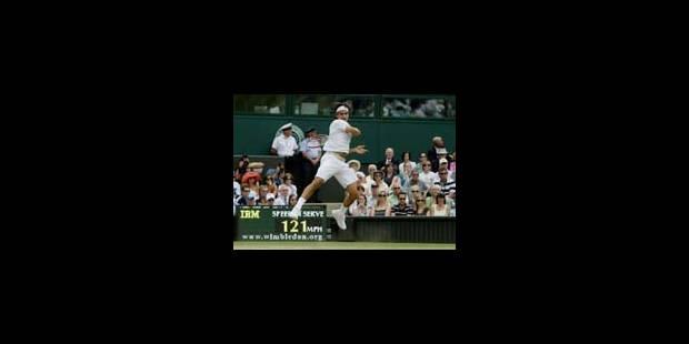 Federer survole les débats - La Libre