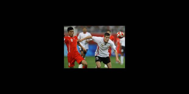La Belgique bat la Chine 2-0 - La Libre