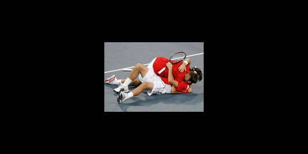 JO - Federer champion olympique en double avec Wawrinka - La Libre