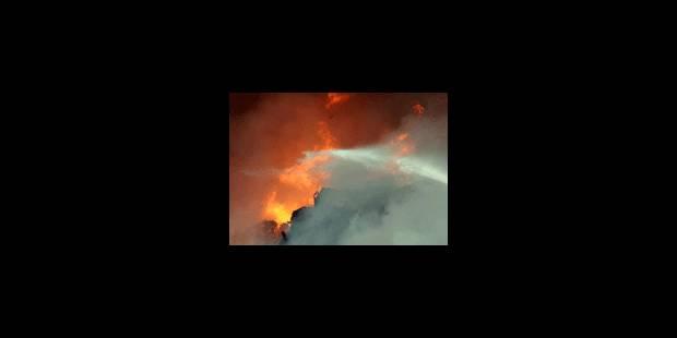 Corbais: incendie toujours en cours mais situation bien maîtrisée - La Libre