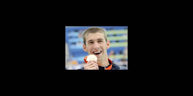 """JO - Phelps est """"six"""" facile - La Libre"""